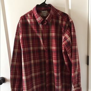 Carhartt plaid shirt